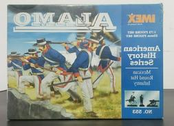 IMEX - 1:72 / 25mm #553 ALAMO - Mexican Round Hat Infantry P