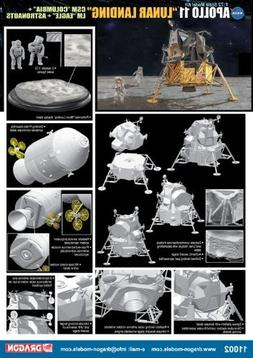 "Dragon Models 1/72 Apollo 11"" Lunar Landing - CSM Columbia +"