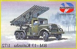 Cooperativa 1:72 BM-13 Katiusha Plastic Model Kit #R72007