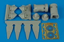 Aires 1:72 F/A-22 A Raptor Exhaust Nozzles for Academy Kit -