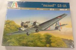 Italeri 1/72 JU-52 Toucan Transport Aircraft Iron Anne Model