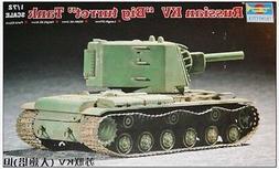 1/72  KV-2 Tank  trumpeter model kit 7236