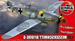 Airfix 1:72 Messerschmitt Bf109G-6 Plastic Model Kit 02029A