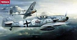 1:72 Academy Messerschmitt Bf109g-6 Plastic Model Kit