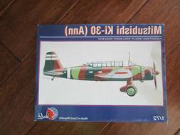 1/72 Pavla MITSUBISHI Ki-30 ANN Japanese Bomber NIB Model Ki