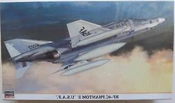 1/72 HASEGAWA RF-4C PHANTOM II 'U.S.A.F.' #00791 HTF/OOP