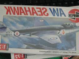 Airfix 1:72 Scale Hawker AW Seahawk Fleet Air Arm Model Kit-