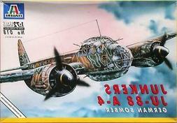 Italeri 1/72 scale kit 018 GERMAN BOMBER JUNKERS Ju-88 A-4 -