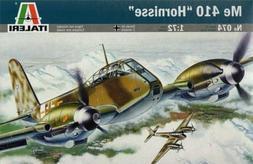 Italeri 1/72 Scale Me-410 Hornisse Plastic Model Kit 0074 IT