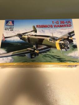 ITALERI 1:72 Scale Model Kit  JU-86 D-1  JUNKER No. 114 New