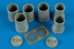 Aires 1:72 Su-33 Flanker D Exhaust Nozzles for Hasegawa Kit