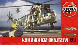 Airfix 1:72 Westland Sea King HC.4 Helicopter Plastic Model