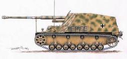 Planet Models 1:72 WWII German Sd.Kfz 164 Nashorn - Resin Mo