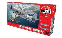 Airfix 1:72nd Scale WWII Grumman F4F-4 Wildcat Plastic Model