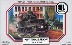 JB Models 1:76 Vickers Light Tank MK.VI.A/B/C Plastic Model