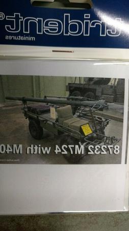 1/87 Trident Miniatures 87232 -  M274A5 106mm Gun - Resin Mo