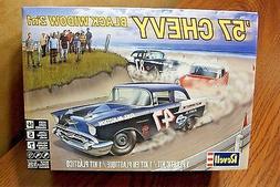 Revell 1:25 1957 Chevy Black Widow Plastic Model Kit 85-4441