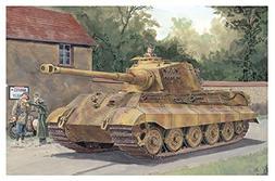Dragon 1/72 7558 WWII German Sd.Kfz.182 Kingtiger  Heavy Tan