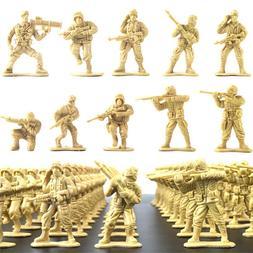 100Pcs/Set Plastic <font><b>Military</b></font> Toy s <font>