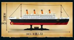 1021 Pcs. Titanic Boat Ship Model Building Block Bricks Kit