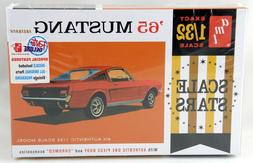 AMT 1042/12 1/32 Scale 1965 Ford Mustang Fastback Plastic Mo