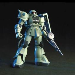 """Bandai - #105 MS-06 Zaku II F2  HGUC Model Kit, from """"Gundam"""