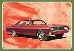 1098 1966 mercury hardtop model kit white