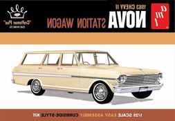 AMT 1202 F/S 1963 CHEVY II NOVA STATION WAGON MODEL KIT