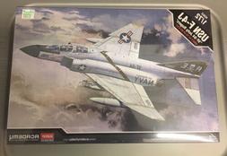 Academy 1/72 Plastic Model Kit USN F-4J VF-84 Jolly Rogers N