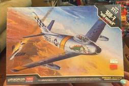 Academy 12546 F-86F Sabre 'Korean War' 1/72 Scale Plastic Mo