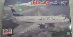 Minicraft 14640 US Air 737-400 Passenger Aircraft Plastic Mo