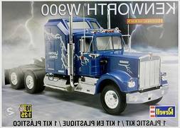 Revell Monogram 1507 Kenworth W900 Cab W/ Sleeper Tractor pl