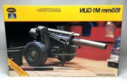 TESTORS 155mm M1 Gun 1:35 Scale Plastic Model Kit No. 783