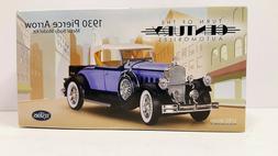 """Testors 1930 Pierce Arrow Metal Body Model Kit 1/32"""" Scale"""