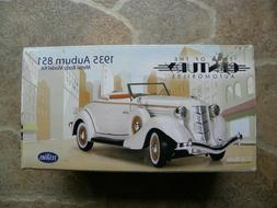 Testors' 1935 Auburn 851 - METAL BODY MODEL KIT - NIB - 1:32