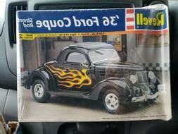 Revell 1936 Ford Coupe Street Rod 1:24 Model Kit FACTORY SEA