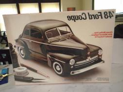 TESTORS 1948 FORD COUPE 1/25 MODEL KIT SEALED