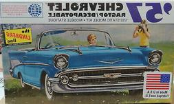 Lindberg 1957 Chevy Convertable 1:32 scale plastic model car