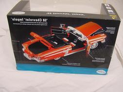 1958 58 CHEVROLET IMPALA MODEL KIT 1/24 METAL DIECAST NEW TE