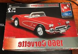 Amt 1960 Corvette Model Kit. New In Opened Box