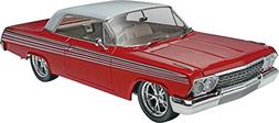 1962 Chevy Impala 1/25 Scale Plastic Glue And Paint Model Ca