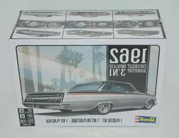 Revell 1962 Chevy Impala SS Hardtop 3'N1 1:25 scale model ca