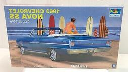 Trumpeter 1963 Chevy Chevrolet Nova SS Convertible Model FAC