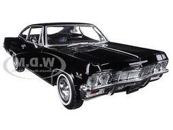 Welly 1965 Chevrolet Impala Black Low Rider 1/24 Scale Dieca