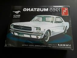 AMT 1965 Ford Mustang 1:16 Scale Model Kit  50th Anniver Bra