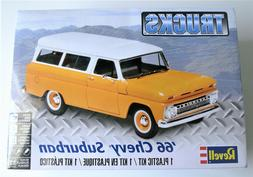 REVELL 1966 Chevy Suburban Truck 1:25th Scale Plastic Model