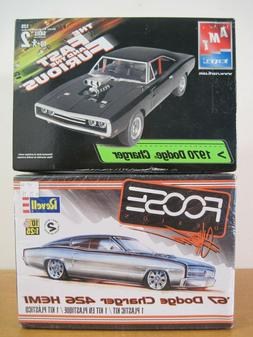 1967 & 1970 Dodge Charger Model Lot  AMT Fast and the Furiou