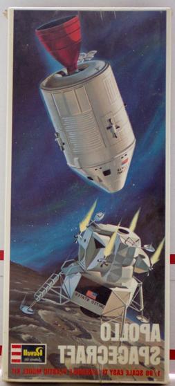 1967 Revell Apollo Spacecraft 1:96 Plastic Model Kit NOS Sea