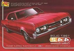 Lindberg 1967 Oldsmobile 442 Cutlass Supreme W30 package mod