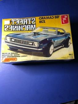 1968 Camaro Z28 Street Machines 1:25 AMT Model Kit #PK4166 F